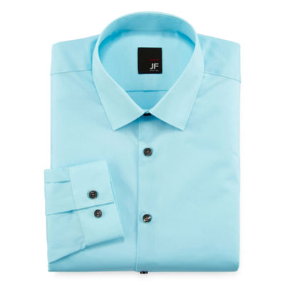 J. Ferrar® Slim-Fit Easy-Care Dress Shirt - Big & Tall