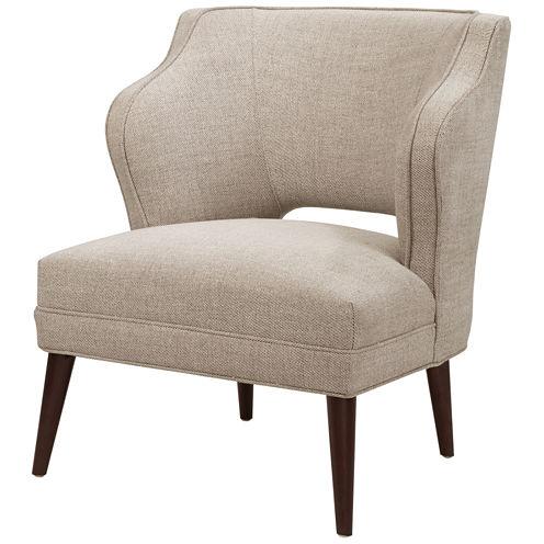 Madison Park Lynn Armless Hemp Mod Chair