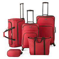 JCPenney deals on Protocol Simmons 5-pc. Luggage Set