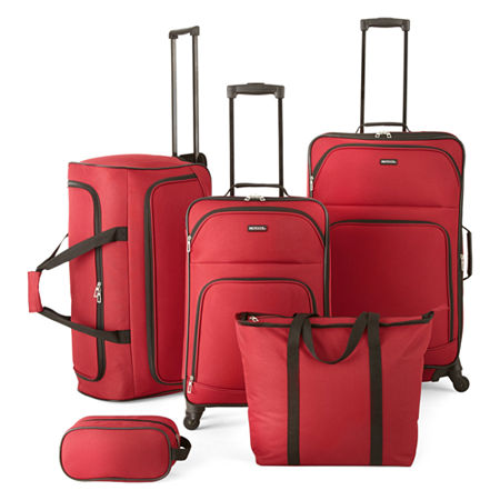 Protocol Simmons 5-pc. Luggage Set, One Size , Red