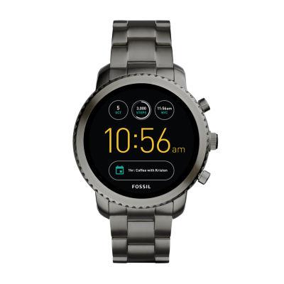 Fossil Q - Gen 3 Explorist Black Smart Watch-Ftw4001