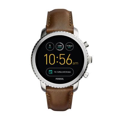Fossil Q - Gen 3 Explorist Brown Smart Watch-Ftw4003