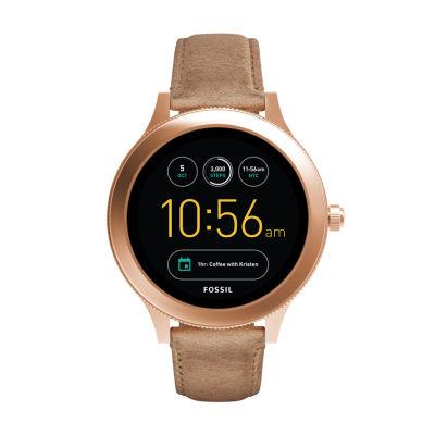 Fossil Q - Gen 3 Venture Brown Smart Watch-Ftw6005