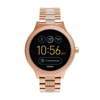 Fossil Q - Gen 3 Venture Rose Goldtone Smart Watch-Ftw6008