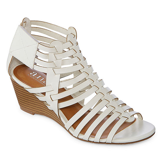 a.n.a Womens Meadow Wedge Sandals
