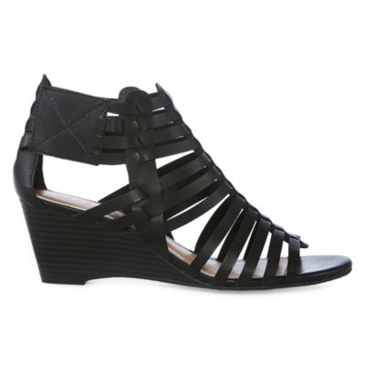 a.n.a Meadow Womens Wedge Sandals