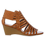 a.n.a Womens Meadow Wedge Sandals