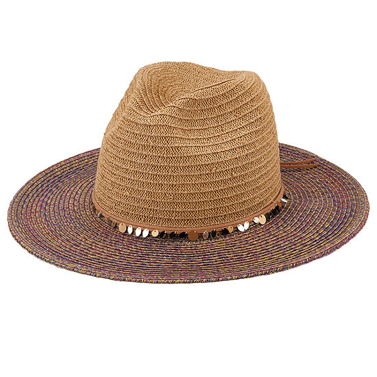 San Diego Hat Company Women's  Ultrabraid Pop Color Brim