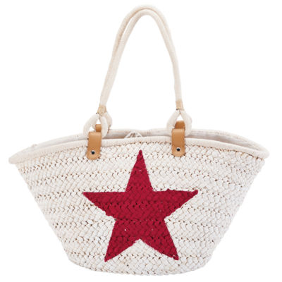 San Diego Hat Company Painted Star Tote