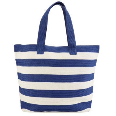 San Diego Hat Company Women's Wide Stripe Tote Bag