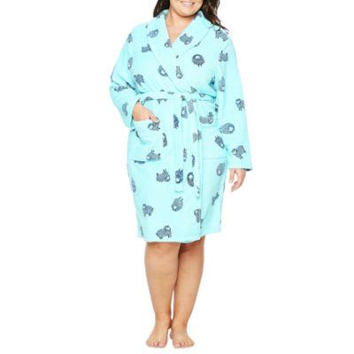 Sleep Chic Plush Robe-Plus