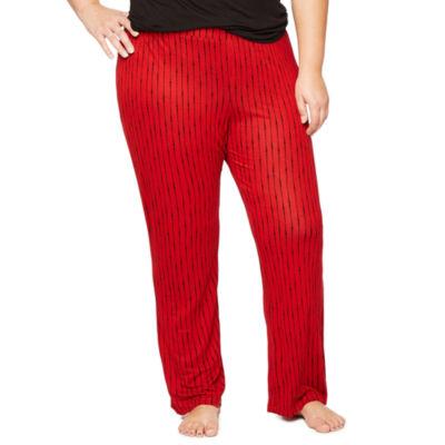 Ambrielle Pattern Pajama Pants-Plus