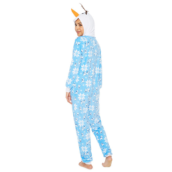 Disney Onesies Frozen Long Sleeve One Piece Pajama