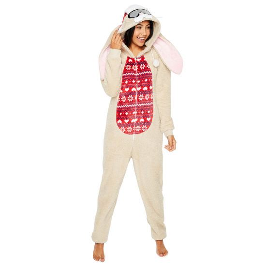 Long Sleeve One Piece Pajama