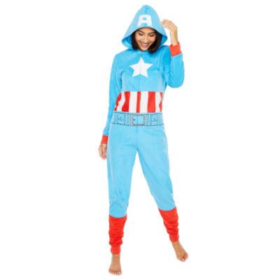 Captain America One Piece Pajama