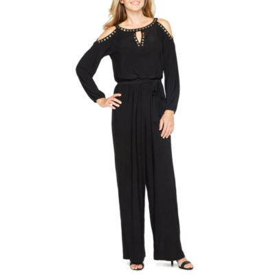 Emma And Michele Long Sleeve Jumpsuit