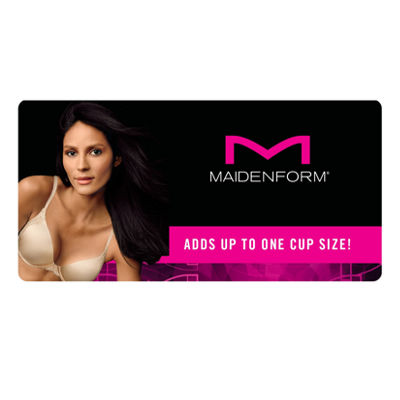 Maidenform Love The Lift Natural Boost Underwire Demi Push Up Bra-09428