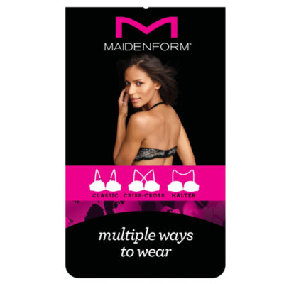 Maidenform Underwire Demi Push Up Bra - 09728