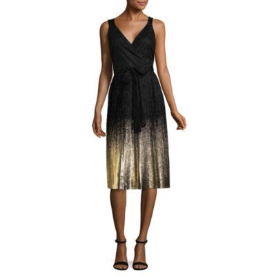 Worthington Sleeveless Ombre Shift Dress - Tall