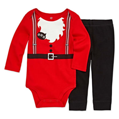 Okie Dokie 2-pc. Bodysuit Set-Baby Boys