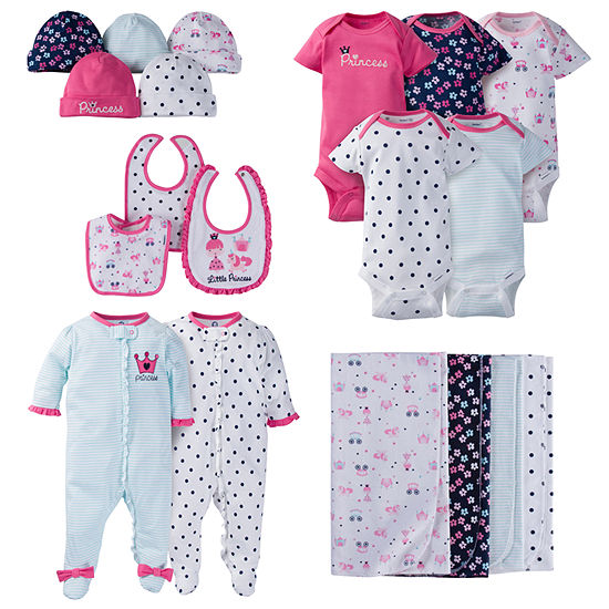 Gerber 19-Pc. Baby Gift Set-Baby Girls