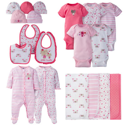Gerber 19-Pc. Layette Gift Set-Baby Girls