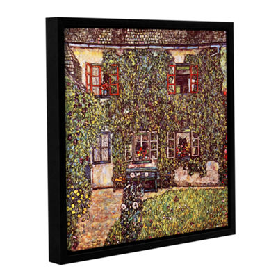 Brushstone House of Guardaboschi Gallery Wrapped Floater-Framed Canvas