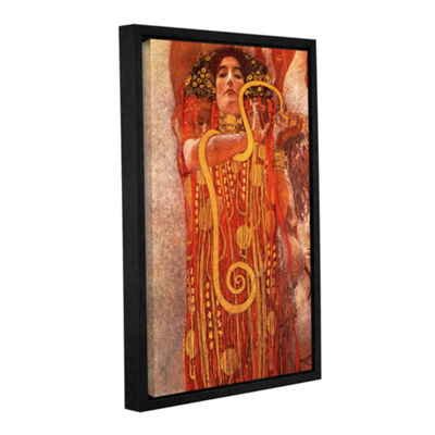 Brushstone Hygieia Gallery Wrapped Floater-FramedCanvas