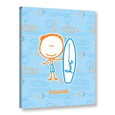 Brushstone I am Swell Gallery Wrapped Canvas