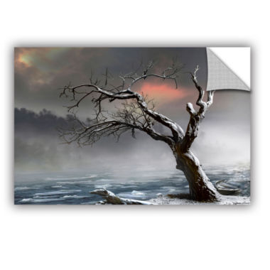 Brushstone Ice Floes Removable Wall Decal