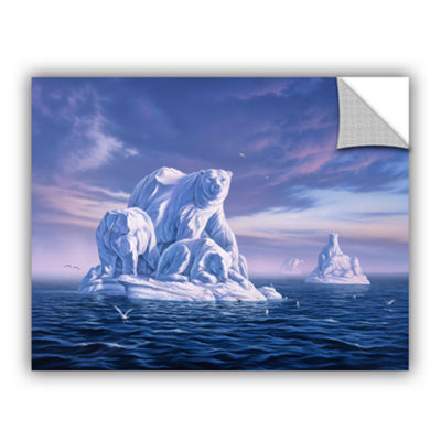 Brushstone Iceberg Removable Wall Decal