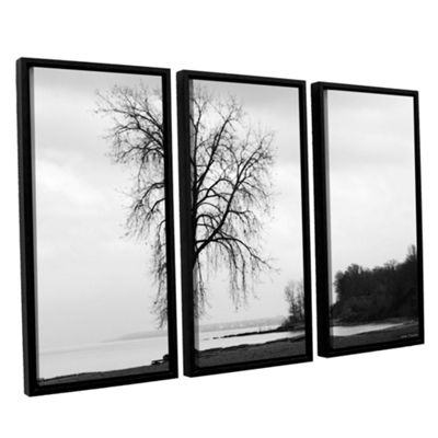 Brushstone I'm Right On The Edge 3-pc. Floater Framed Canvas Wall Art