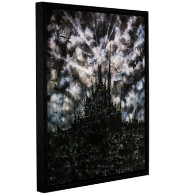 Brushstone In the Dark Of Your Dreams Gallery Wrapped Floater-Framed Canvas