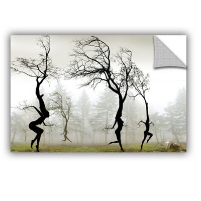 Brushstone In The Mist Removable Wall Decal