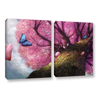Brushstone In the Shadow of Peace 2-pc. Gallery Wrapped Canvas Set