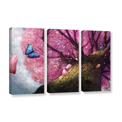 Brushstone In the Shadow of Peace 3-pc. Gallery Wrapped Canvas Set