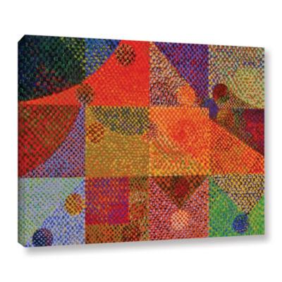 Brushstone Inertia Gallery Wrapped Canvas