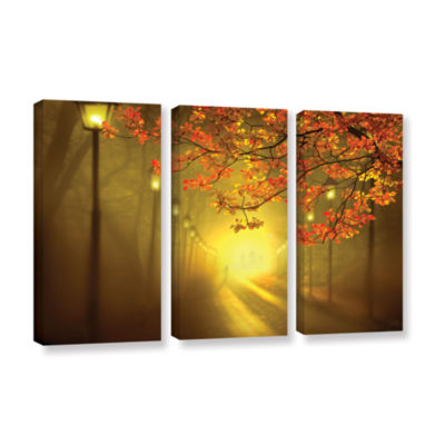 Brushstone Into The Light 3-pc. Gallery Wrapped Canvas Set
