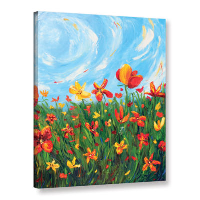 Brushstone Joyful Morning Gallery Wrapped Canvas Wall Art