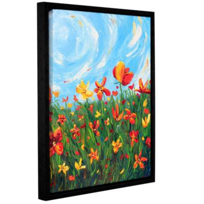 Brushstone Joyful Morning Gallery Wrapped Floater-Framed Canvas Wall Art