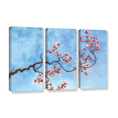 Brushstone Juliet 3-pc. Gallery Wrapped Canvas Wall Art