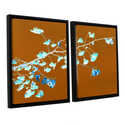 Brushstone Just Leaving 2-pc. Floater Framed Canvas Wall Art