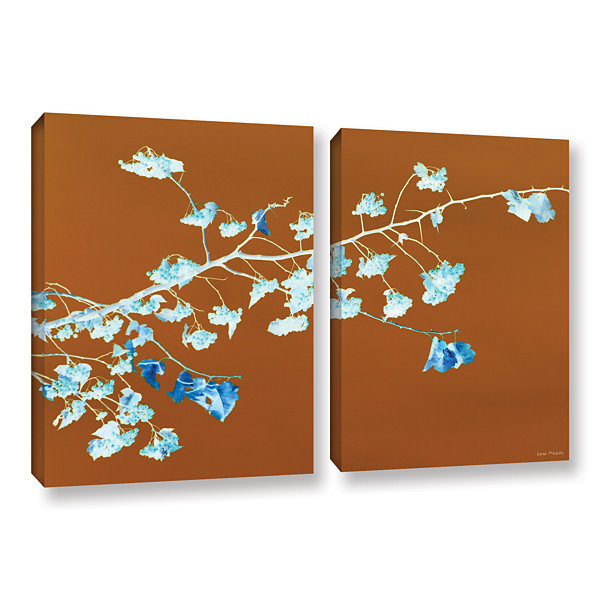 Brushstone Just Leaving 2-pc. Gallery Wrapped Canvas Wall Art