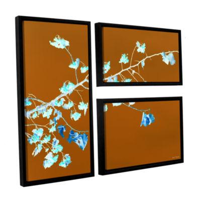 Brushstone Just Leaving 3-pc. Flag Floater FramedCanvas Wall Art