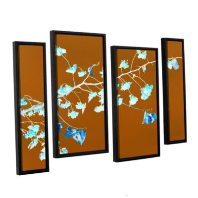 Brushstone Just Leaving 4-pc. Floater Framed Staggered Canvas Wall Art