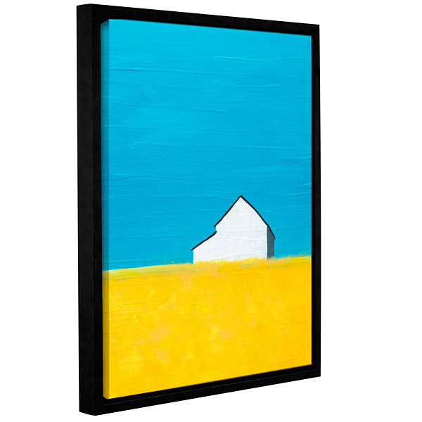 Brushstone It's A Barn Gallery Wrapped Floater-Framed Canvas