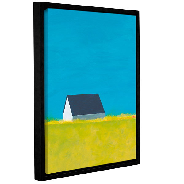 Brushstone It's A Farmhouse Gallery Wrapped Floater-Framed Canvas