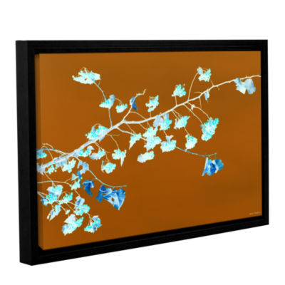 Brushstone Just Leaving Gallery Wrapped Floater-Framed Canvas Wall Art