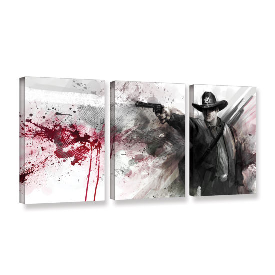 Brushstone Justice 3-pc. Gallery Wrapped Canvas Wall Art