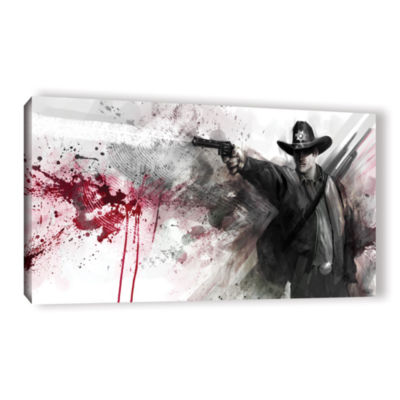 Brushstone Justice Gallery Wrapped Canvas Wall Art